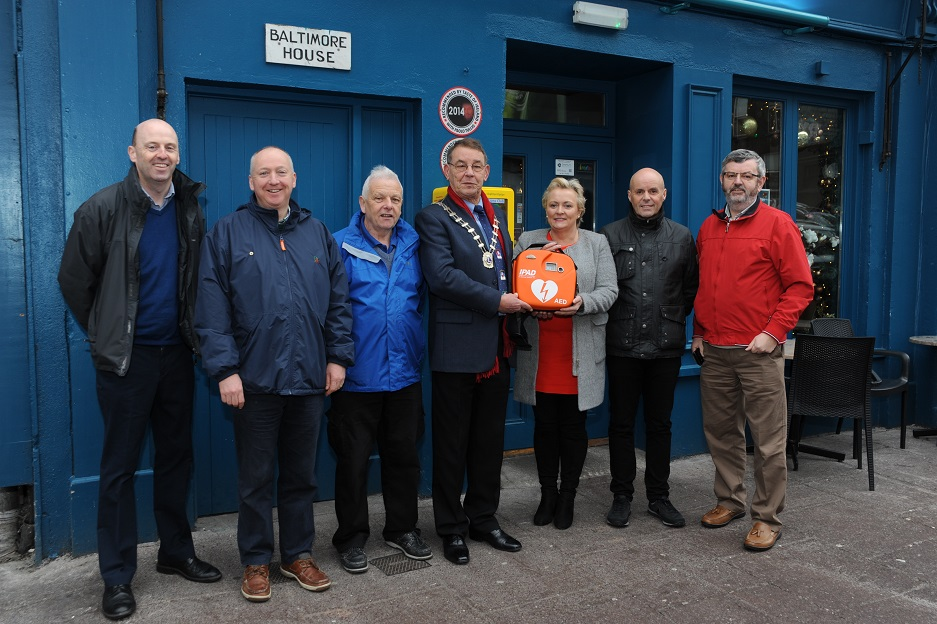 Cork City Centre Defib Project
