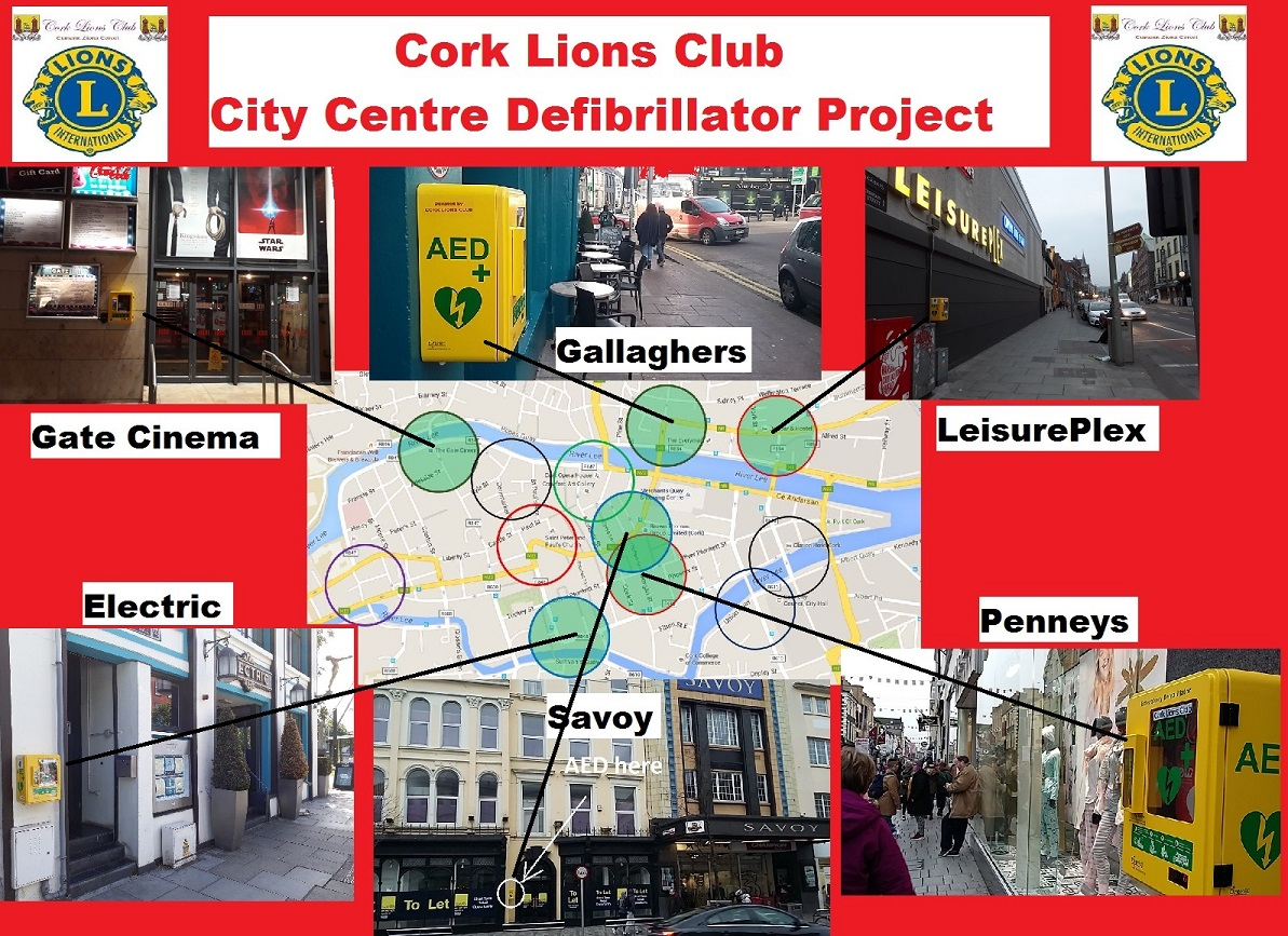 City Centre Defib Project