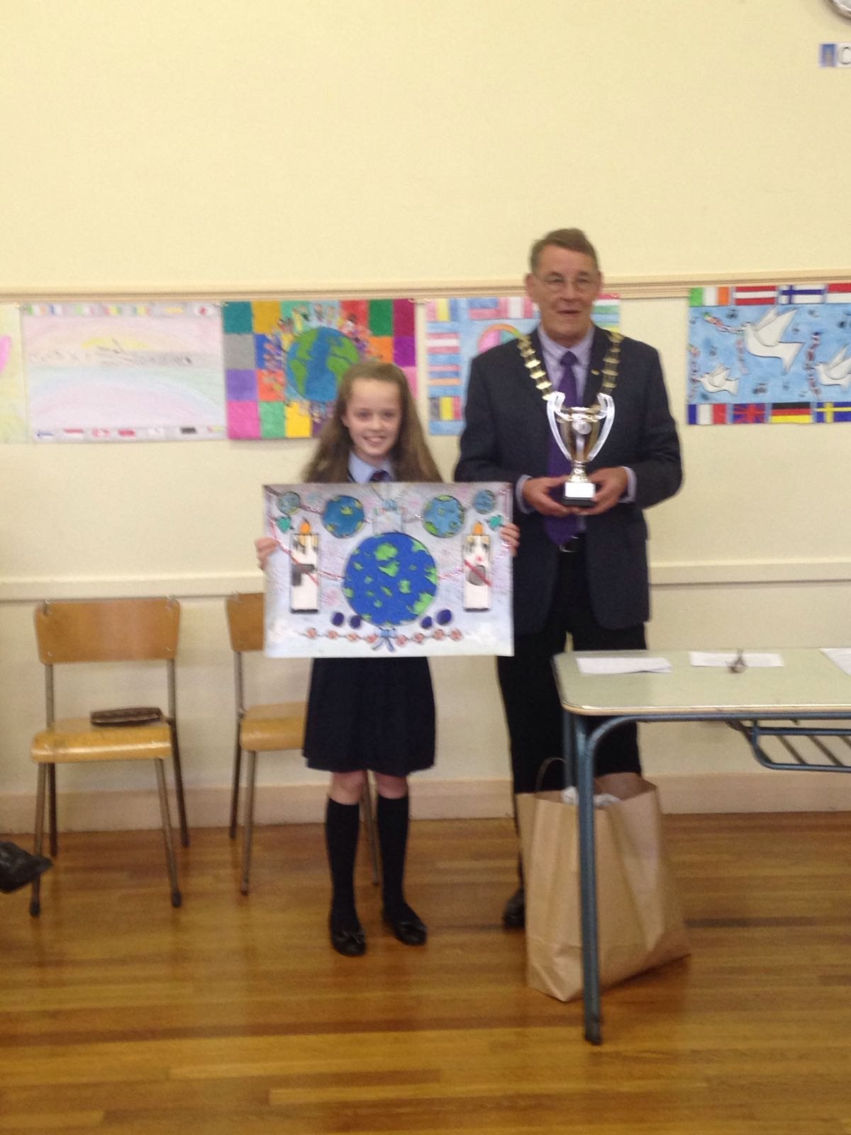 Lions Peace Poster Competition 2016